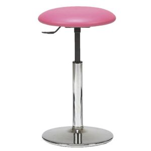 TABOURET SOCLE CHROME STANDARD